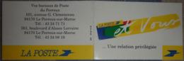 Petit Calendrier De Poche 1995 La Poste  Et Vous Une Relation Privilégiée - Calendriers