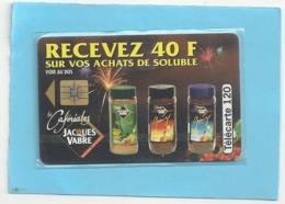 F 470A  .  CAFERIALES J. VABRE  -  05/1994 . 120 U . SO3 .  N° CENTRES SUR 2 LIGNES . . COTE = 25 € - Frankrijk