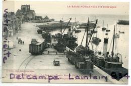 - 2172  - BARFLEUR - ( Manche ) - Le Port Et Les Quais, Port De Pêche, Wagons, Non écrite, TTBE, Scans.. - Barfleur