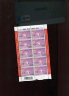 Belgie 2003 Nr 3172 DVDP Mail Art Volledig Vel Plaatnummer 2 - Panes