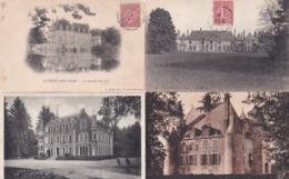 LOT 100 Cpa CHATEAUX (45) Au (71) Pas De Doubles Ni Châteaux Très Courants (Type Châteaux De La Loire, Versailles, Etc.) - Châteaux