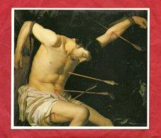 PS88 --- SAN SEBASTIANO --- STAMPA FOTOCROMOLITOGRAFIA  CM.  14 X 16 - Imágenes Religiosas