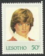 Lesotho, 50 S. 1982, Sc # 373, MNH, Princess Diana. - Lesotho (1966-...)