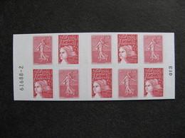 B). TB Carnet 1511, Numéroté En Marge, Neuf XX. - Booklets