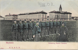 1900/05 - Ceske Budejovice , Gute Zustand ,  2 Scan - Tchéquie