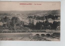 CP67/ France CP Sermaize-les-Bains Vue Générale - Pont - Locomotives Neuve - Sermaize-les-Bains