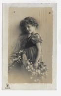 Grete Reinwald 1909y. Belle Fille Fillette LITTLE GIRL D003 - Ritratti