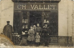 Carte Photo - SOTTEVILLE Sur MER 76 - Epicerie Ch. Vallet - Grand Rue ? - France