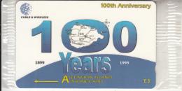 ASCENSION ISL.(GPT) - 100th Anniversary, CN : 308CASA, Tirage 1000, Mint - Ascension