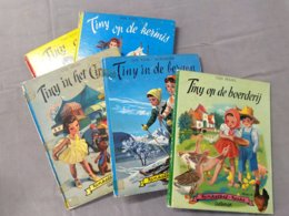 Tiny, 5 Boekjes Uit De Jaren 50' - Jeugd