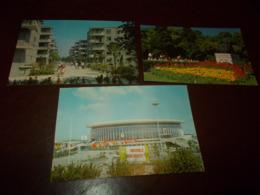 B742   3 Cartoline Shanghai - Cina