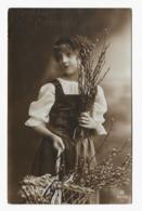 Grete Reinwald About 1912y. Belle Fille Fillette LITTLE GIRL D007 - Ritratti