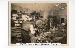 Cp      Josnes Ent. Drugeau (magasin,atelier, Travail Du Bois ?) Cp 118 X 88mm - France