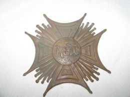 Ancien Medaille Etoile REX NO,insignes Roi, - Medals