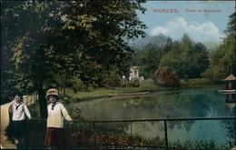 Ansichtskarte Wurzen Kinder Im Stadtpark 1913 - Wurzen