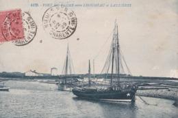 CPA : Port Du Plomb  (17) Entre Lhoumeau Et Lauzieres  Bateau De La Rochelle 1731 Ed Bergevin N°4179 - France