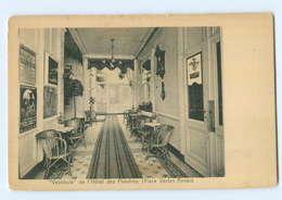 T6639/ Anvers Hotel Des Flandres  Place Verte AK Ca.1912 - Belgien