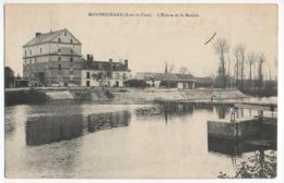 Cpa     Montrichard    L'Ecluse Et Le Moulin    TBE - Montrichard