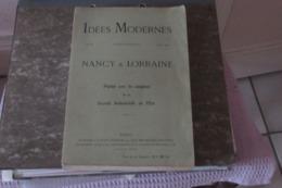 Nancy & Lorraine - Idées Modernes - 1909 - 1901-1940