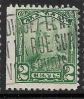 Yvert 130 Michel 129A - 2 C Vert - O - 1911-1935 Reign Of George V