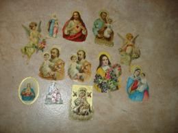 LOT 12 DECOUPIS RELIGION - ANGE SAINTE RITA SAINT JESUS SACRE COEUR VIERGE MARIE ... - Angeli