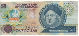 BAHAMAS   1 Dollar    P50    Commemorative Issue-Cristobal Colombus   P50    (1992) - Bahamas