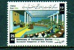 2006 AFGHANISTAN - Election - Afghanistan