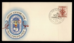 Australia Official Cover 1956 Melbourne Summer Olympics Games Aviron Rowing Rudern Canottaggio Remo Cancelled - Sommer 1956: Melbourne