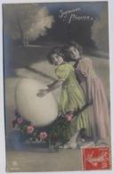 Grete Reinwald  1910y. Belle Fille Fillette LITTLE GIRL D016 - Ritratti