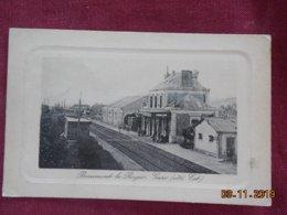 CPA - Beaumont-le-Roger - Gare (côté Est) - Beaumont-le-Roger
