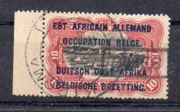 CONGO - EAAOB 10c - RU TX 2 - Gff TAXES - Obl KIGOMA - TTB - RRR - UN7 - Congo Belge