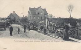 Peckelsheim Nach Dem Grossen Brande Am 28 August 1905 , Germany, - Deutschland