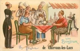 39 , CLAIRVAUX LES LACS , Un Bonjour , * 435 52 - Clairvaux Les Lacs