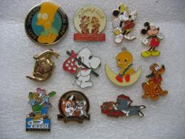 Lot De 11 Pin's BD Dont 6 Disney (lot 1) - Comics