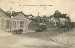 """93 , EPINAY SUR SEINE , Les Studios """"ECLAIR """" ( Moto ) , * 435 66 - France"""