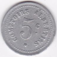 80. Somme. Albert. Comptoirs Albertins. Produits De 1er Choix. 5 Centimes , En Aluminium - Monétaires / De Nécessité