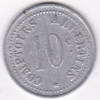 80. Somme. Albert. Comptoirs Albertins. Produits De 1er Choix. 10 Centimes , En Aluminium - Monétaires / De Nécessité