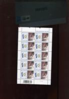 Belgie 2005 3352 Rotary International POLIO Vaccination Full Sheet MNH Plaatnummer 5 - Hojas