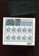 Belgie 2005 3396 Tourism Clocks Lier Zimmmertoren Full Sheet  Plaatnummer 2 - Hojas