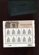 Belgie 2005 3397 Tourism Clocks Mons Full Sheet  Plaatnummer 12 - Feuillets