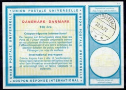 DANEMARK / DENMARKVi20 150 öreInternational Reply Coupon Reponse Antwortschein IRC IAS O SONDERBORG 20.10.72 - Enteros Postales
