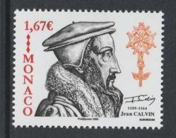 MONACO 2009 Jean Calvin: Single Stamp UM/MNH - Theologen