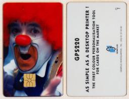Not Phonecard - Gemplus Chipcard - Clown - Sonstige