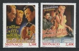 MONACO 2014 Films Of Grace Kelly: Set Of 2 Stamps UM/MNH - Nuovi