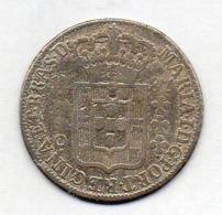 BRAZIL, 160 Reis, 1787, Silver, KM #220.1 - Brasil