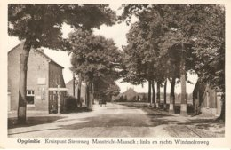 Opgrimbie : Kruispunt Steenweg Maastricht - Maaseik - Maasmechelen