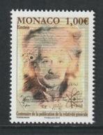MONACO 2015 General Theory Of Relativity/Albert Einstein: Single Stamp UM/MNH - Nuevos