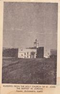 JORDAN - Holy Church Of St. John The Baptist - The Greek Orthodox Convent - Giordania