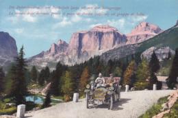 Pordoijoch (Passo Pordoi) * Dolomitenstrasse, Auto, Sellagruppe, Dolomiten, Alpen * Italien * AK1629 - Trento