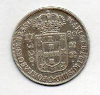 BRAZIL, 320 Reis, 1780, Silver, KM #206 - Brasil